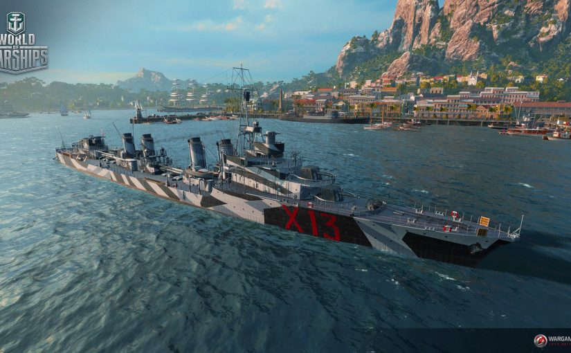 Destroyer Aigle dans World of Warships