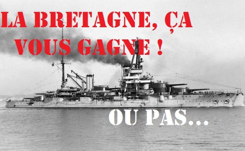 Cuirassé Bretagne dans World of Warships