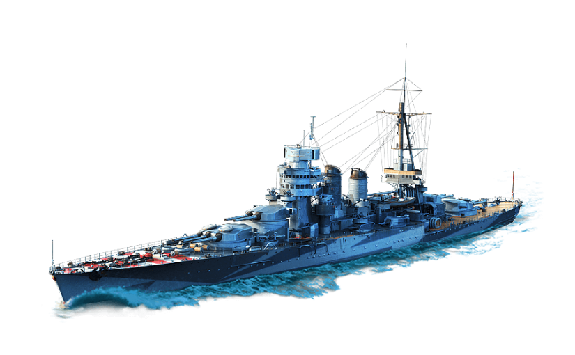 Cuirassé Giulio Cesare dans World of Warships
