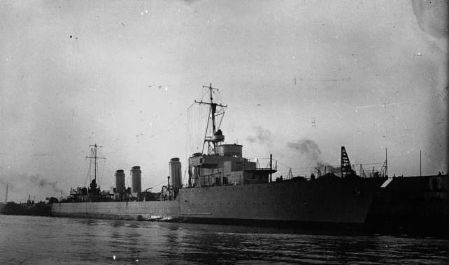 lancement du contre-torpilleur Aigle