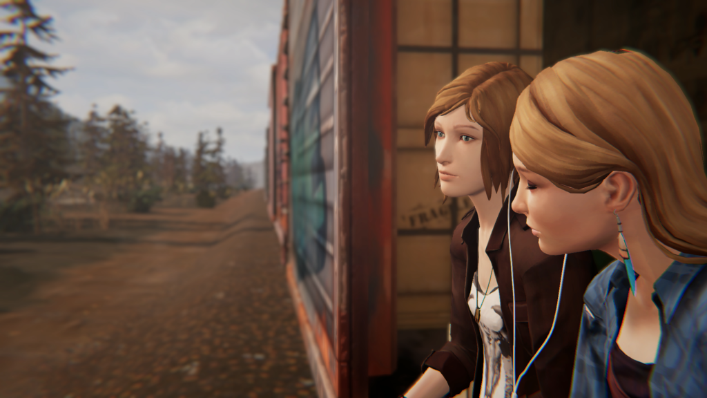 Rachel et Chloé dans Life is Strange Before the Storm