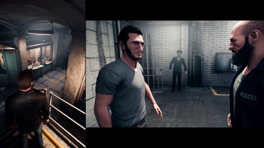 Vincent et Leo en prison dans A Way Out