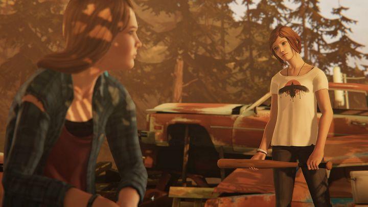 Rachel l'imprévisible fâchée après Chloé dans Life is Strange Before the Storm