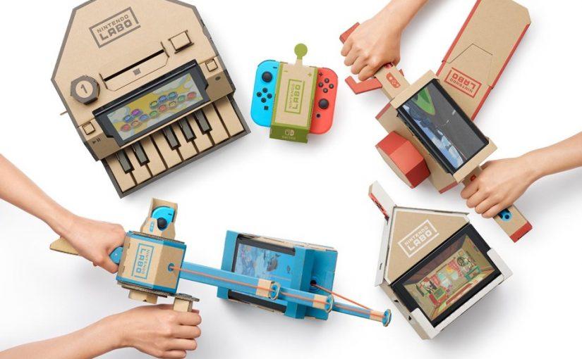 Nintendo Labo : un test en famille