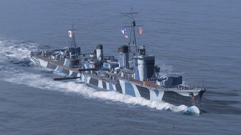 World of Warships : quel build pour le destroyer Asashio ?