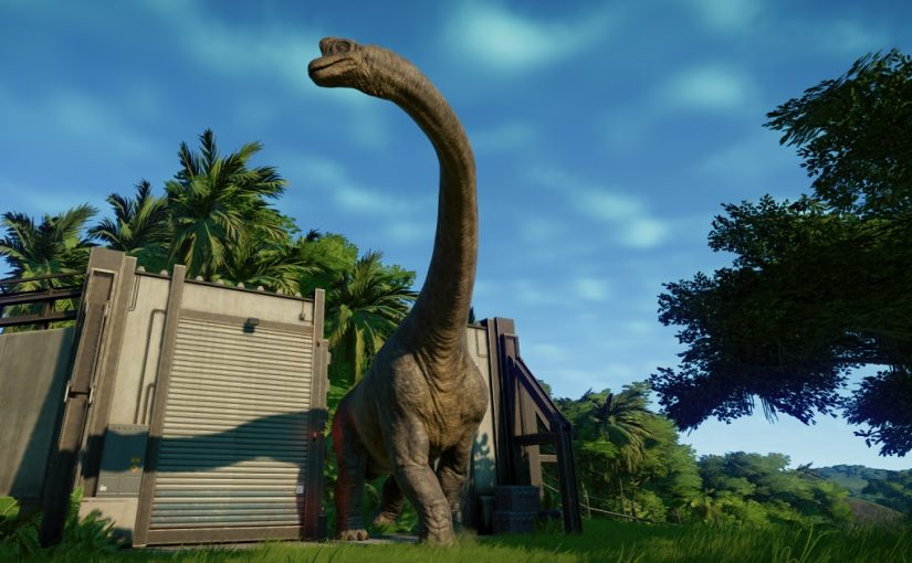 Jurassic World Evolution Brachiosaure