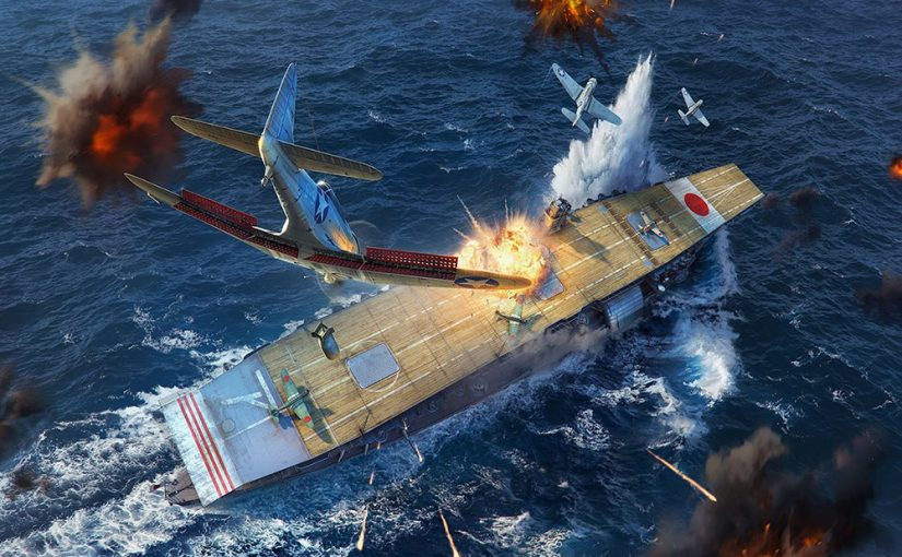 World of Warships : le rework CV de la honte