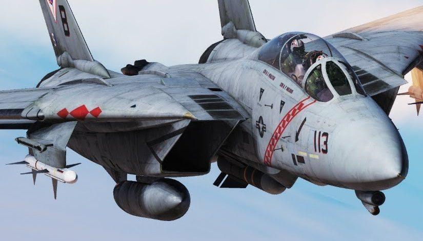 Mission de bombardement dans DCS: F-14B