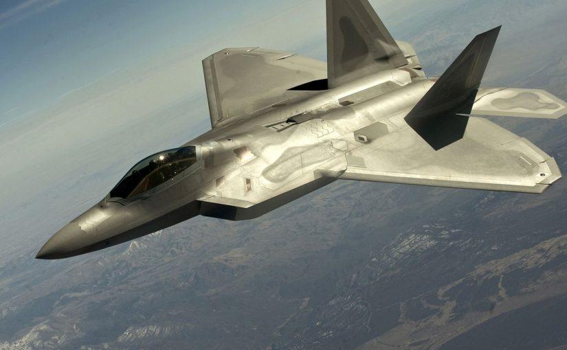 DCS : test du «mod» Grinelli F-22 Raptor Mk.II